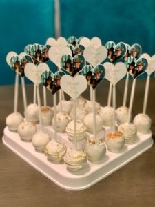 Engagement Cake Pops