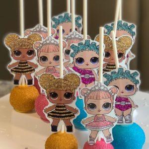 LOL Doll Cake Pops